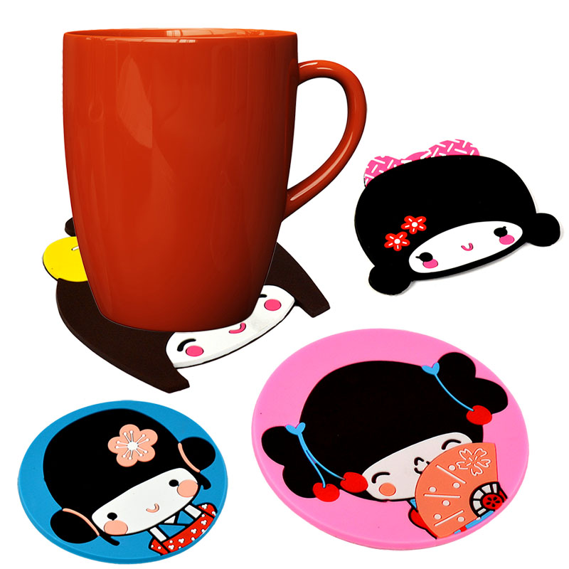 Mug clipart cup plate Rubber Online Shopping/Buy Girl Plate