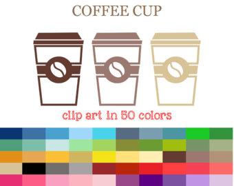 Mug clipart digital Takeaway Etsy Cup Takeaway Clipart