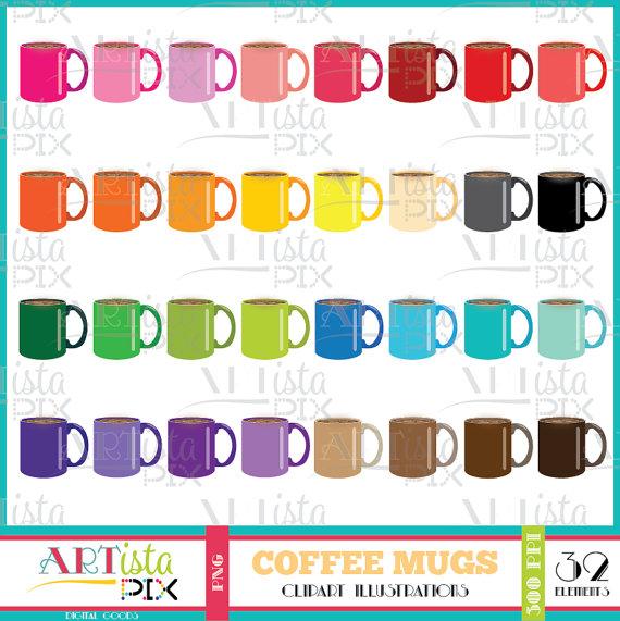 Mug clipart digital Download from Studio Coffee Download