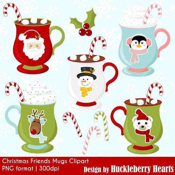 Mug clipart digital Christmas Art Christmas Christmas Clip
