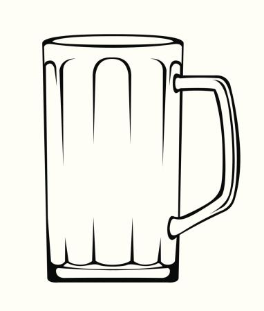 Beer clipart outline Outline com clipart clipartfest clipart