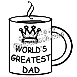 Mug clipart father's day Borders Clip Images Day Free