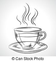 Teapot clipart hot Hot drink Illustrations (coffee tea