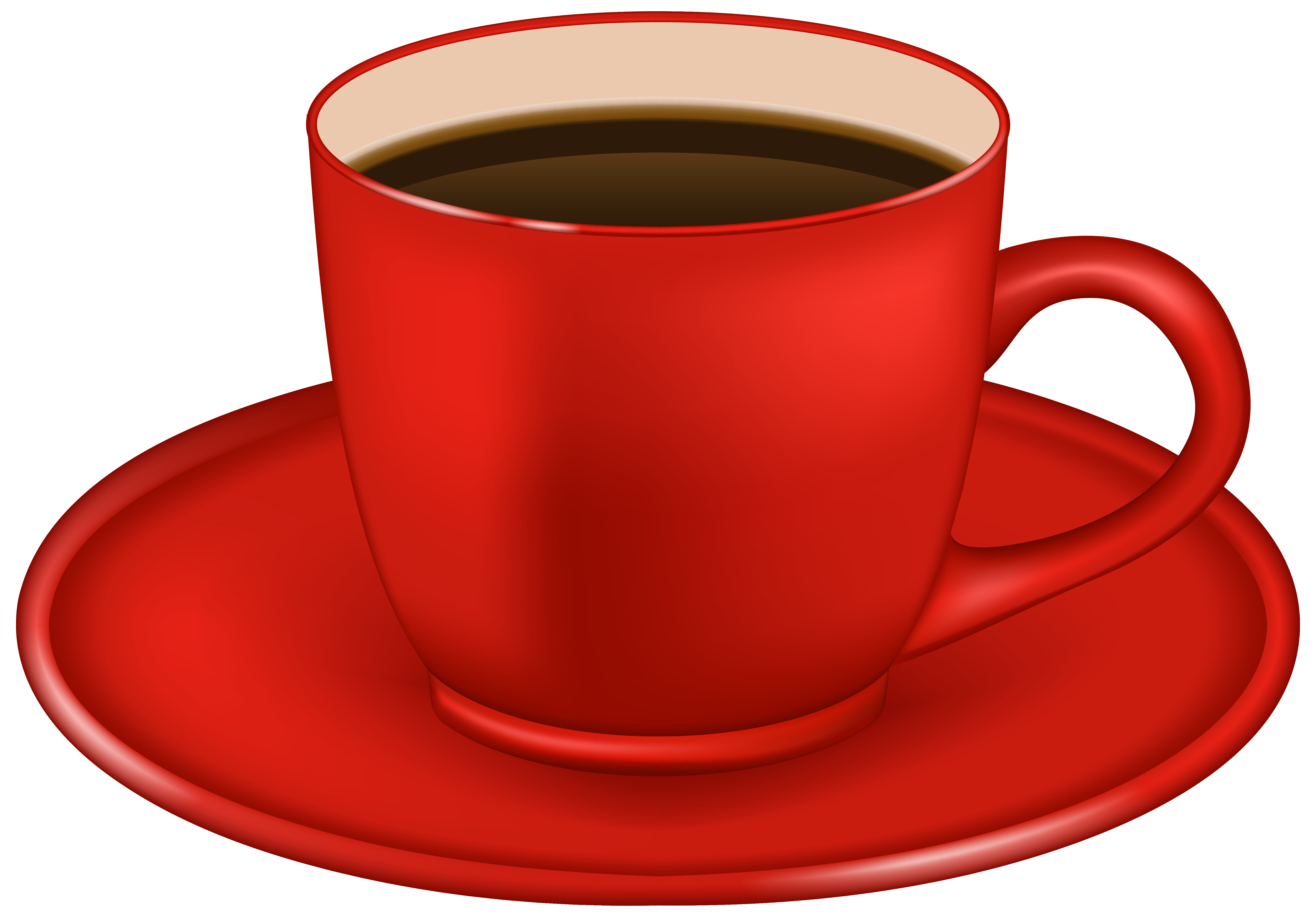 Mug clipart red cup Download Gallery PNG Yopriceville Red