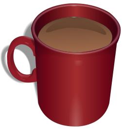 Mug clipart red cup Coffee Clip Red Art Mug