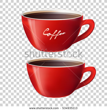 Mug clipart red cup Royalty background 51KB on 450x470