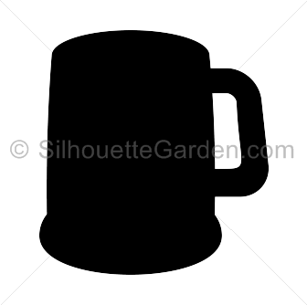 Beer clipart animation Silhouette clipart collection Mug mug