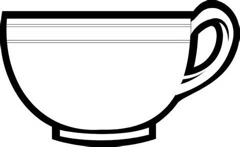 Mug clipart tasa Clip Teacup Clipart Free