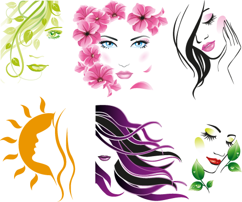 Mujer clipart Mujer natural  a de