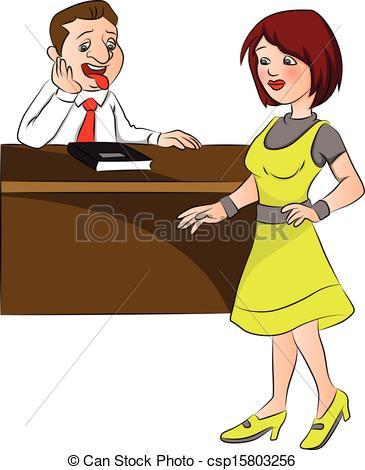 Mujer clipart Man Clipart Vector at of Vector at