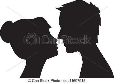 Mujer clipart Man Clipart Woman Vector kissing Woman man