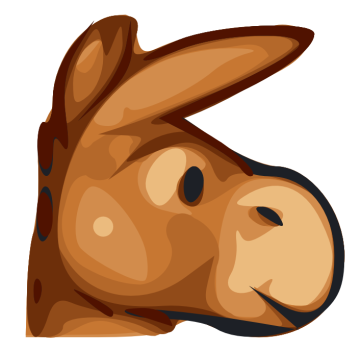 Mule clipart face 1 Domain Free of page