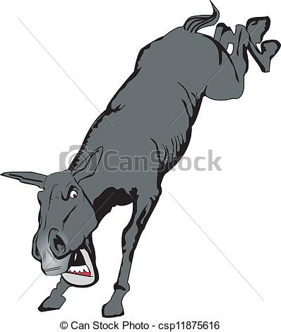 Clipart Mule Mule cliparts Kicking