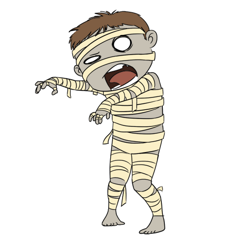 Zombie clipart cartoon character Cute%20halloween%20mummy%20clip%20art Free Mummy Clipart Panda
