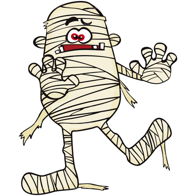 Mummy clipart Halloween art Clipartix clipart Cute