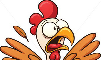 Chick clipart scared Sacred Chicken Clipart Download Clipart