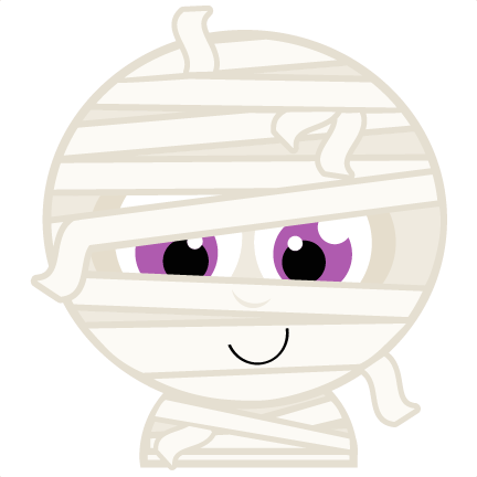 Mummy clipart silhouette #6