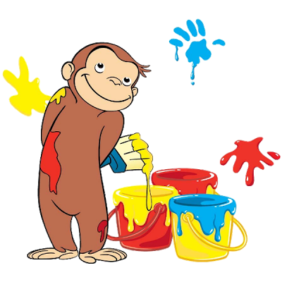 Cake clipart curious george Cartoon clipart Collection Museum george
