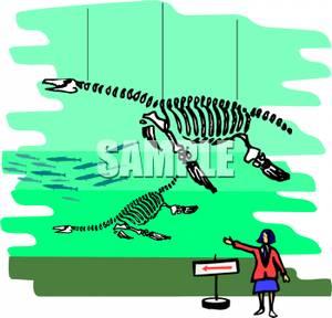 Museum clipart dinosaur museum #5