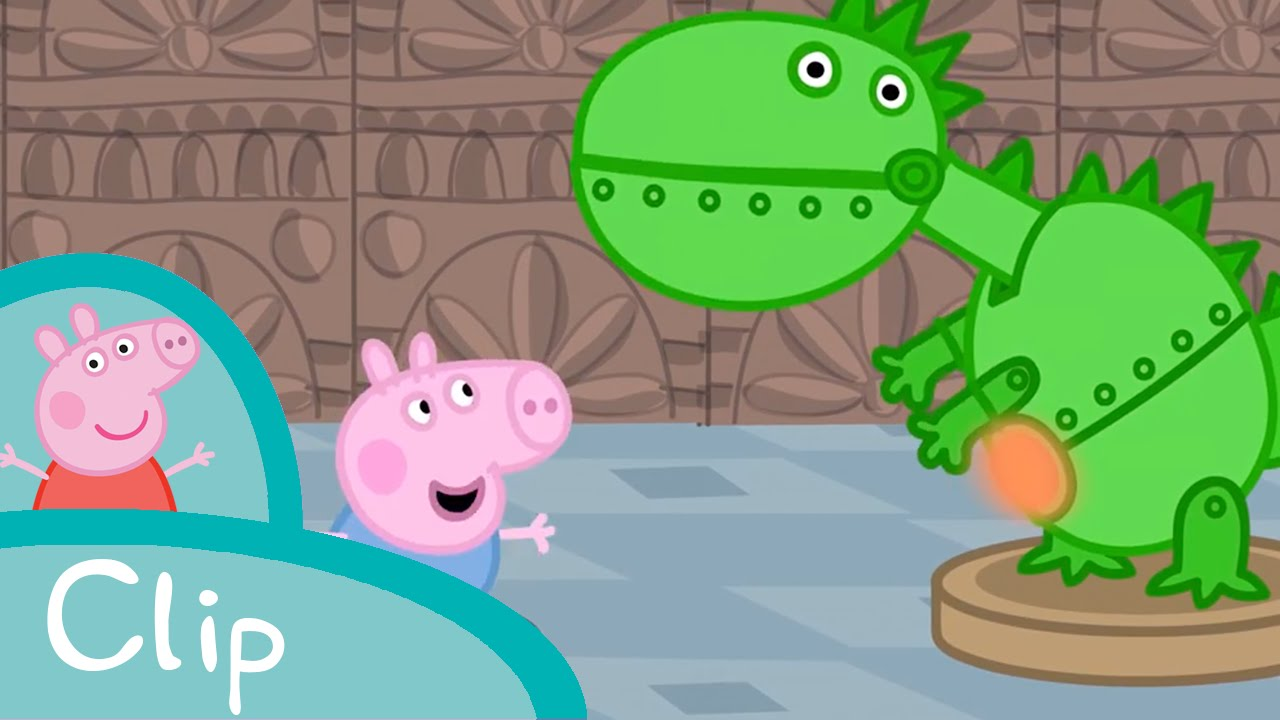 Museum clipart modern architecture George YouTube museum the Peppa