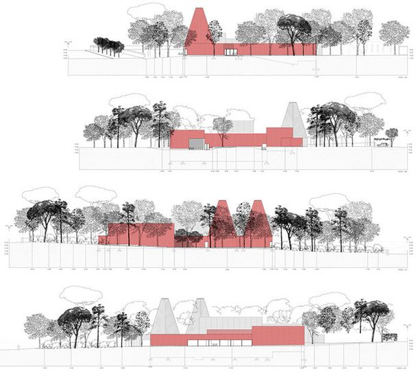 Museum clipart modern architecture On Architecture by Pinterest best