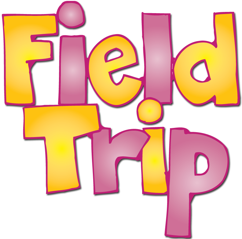 Word clipart field trip Trip border Zone School Border