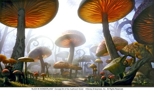 Mushroom clipart alice and wonderland Wonderland Clip  In Concept