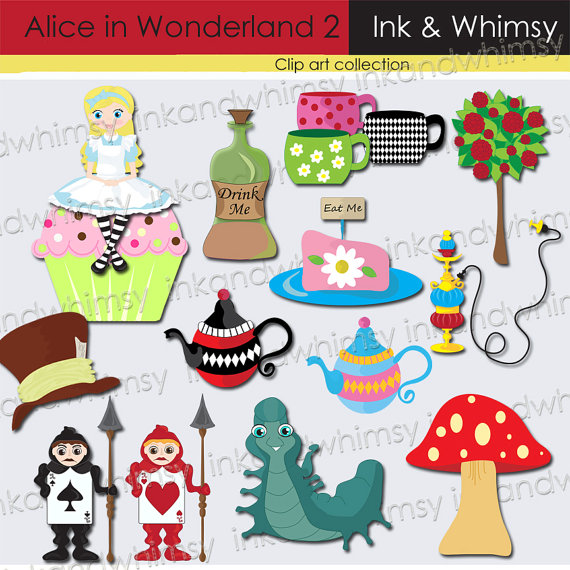 Mushroom clipart alice and wonderland Cup (43+) Clipart clip in