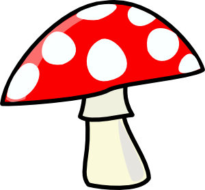 Mushroom clipart decomposer Online free public domain royalty