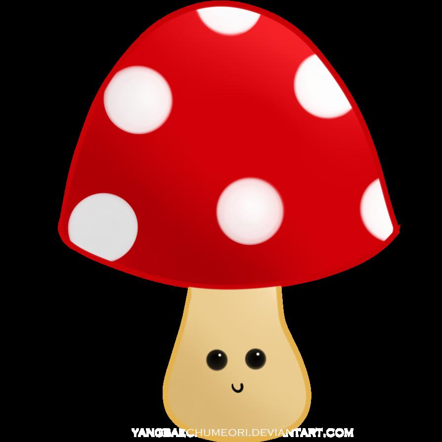 Mushroom clipart face #4