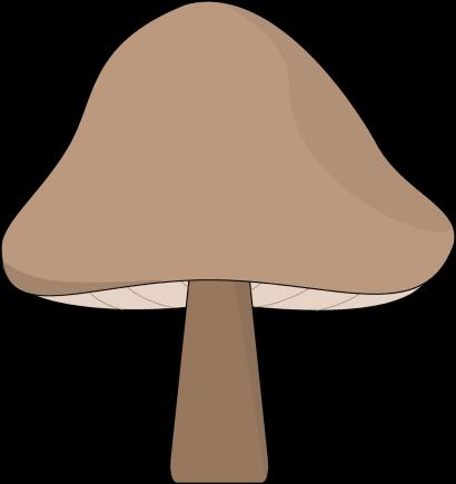 Mushroom clipart face #5