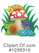 Mushroom clipart insect Mushroom Illustration visekart Free by