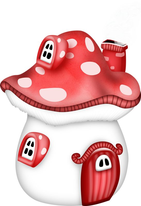 Cottage clipart mushroom Find Cutest FOR (clip this