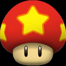 Mushroom clipart mario star Mushroom Icon Iconset Mario 256px