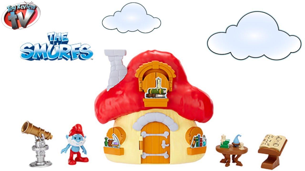 Mushroom clipart smurf House Papa The Smurf's Toy