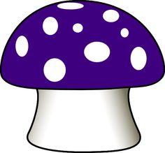 Mushroom clipart coloring book Mushroom Clip Art clip art