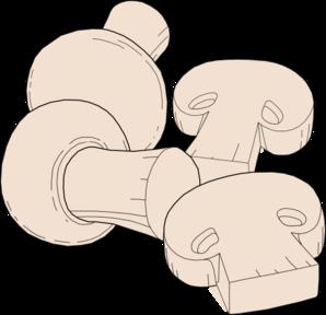 Mushroom clipart topping Clip vector Mushroom art Clip