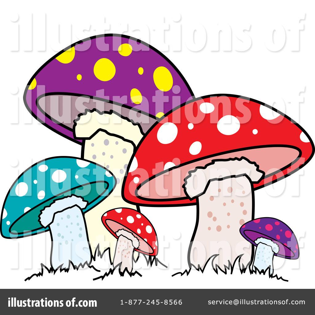 Mushroom clipart trippy #14