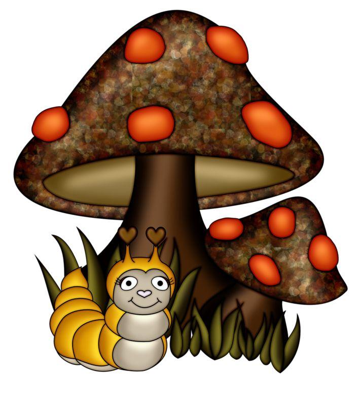 Mushroom clipart village Яндекс ArtWoodland images Fairies Фотки
