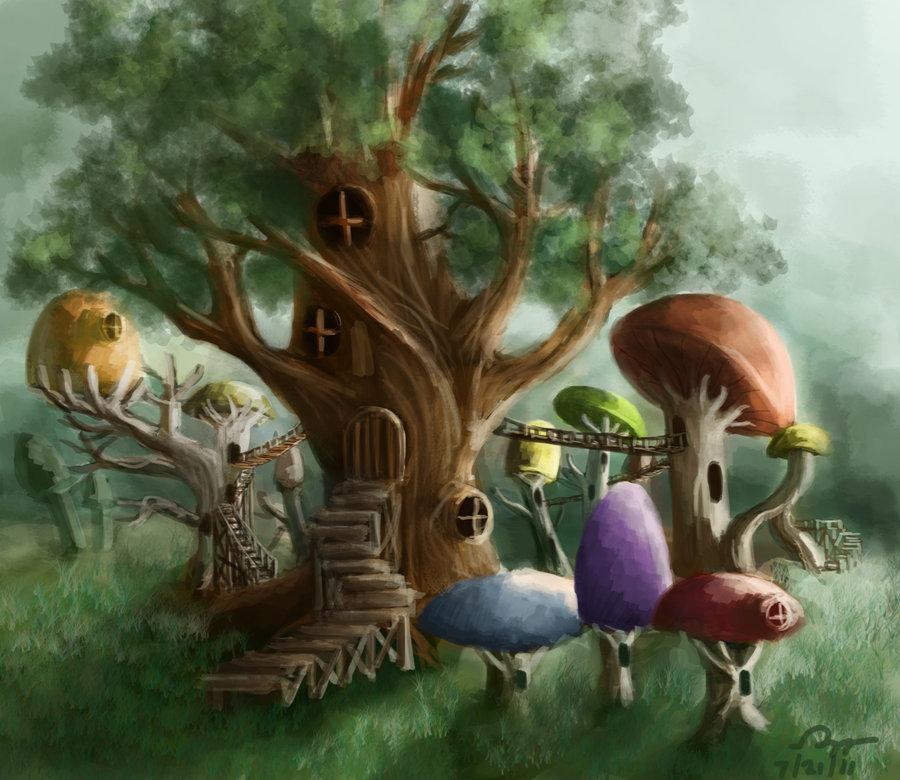 Mushroom clipart village Mushroom Mushroom Norradd Village by