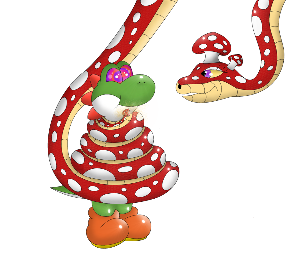 Mushroom clipart yoshi Quickie: Yoshi Mushroom Kinipharian the