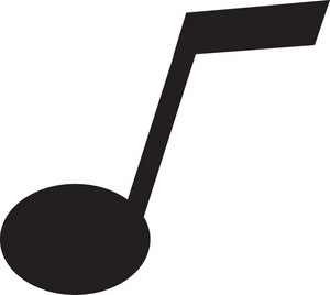 Singer clipart music symbol Clipart Music black white and