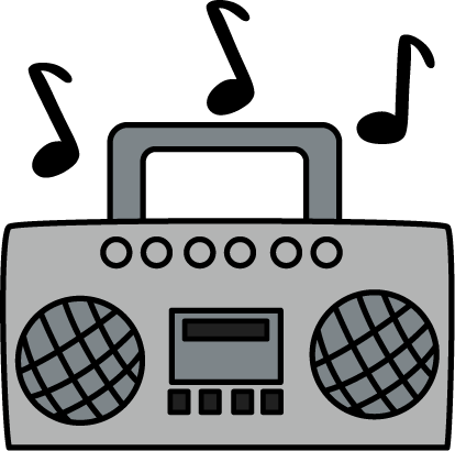 Noise clipart music With Boombox Boombox Image Art