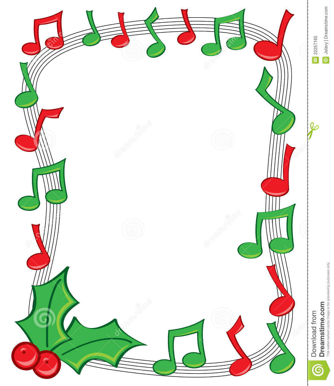Holydays clipart music note Clipart Clipart Corner Images Border
