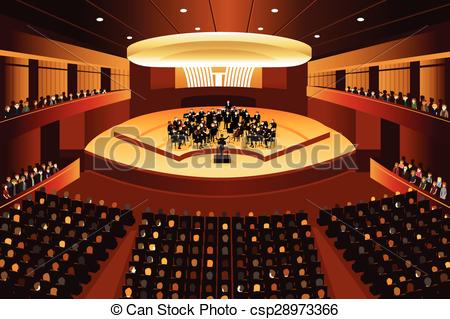 Musical clipart auditorium #1