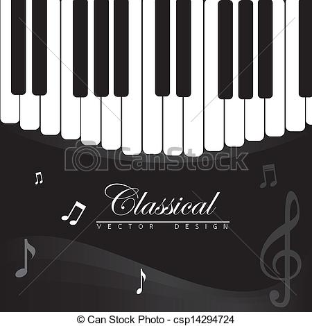 Music clipart classical music Illustration of classical Vector classical