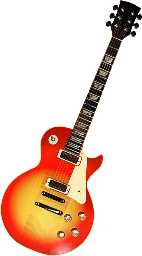 Background clipart guitar #4