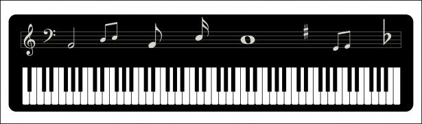 Music clipart keyboard Free Keyboard  Photo Domain