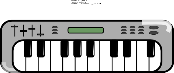 Music clipart keyboard Pictures  library Keyboard Download