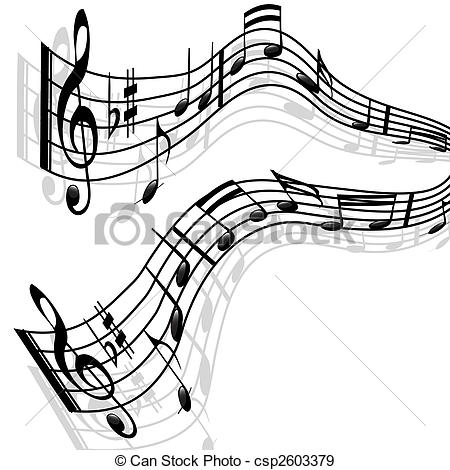 Musician clipart tune Music Stock Melody notes Music